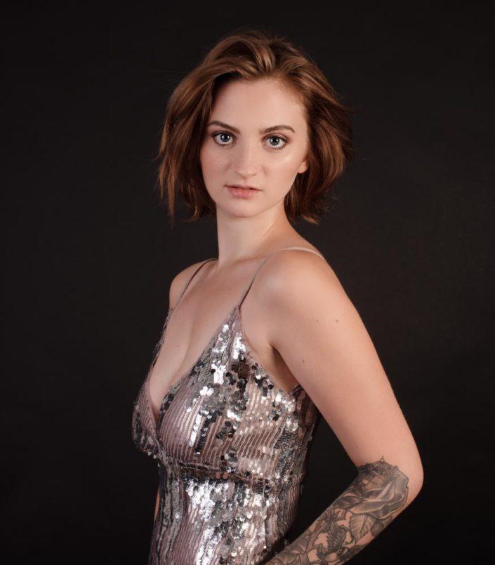 photo portrait jeune femme