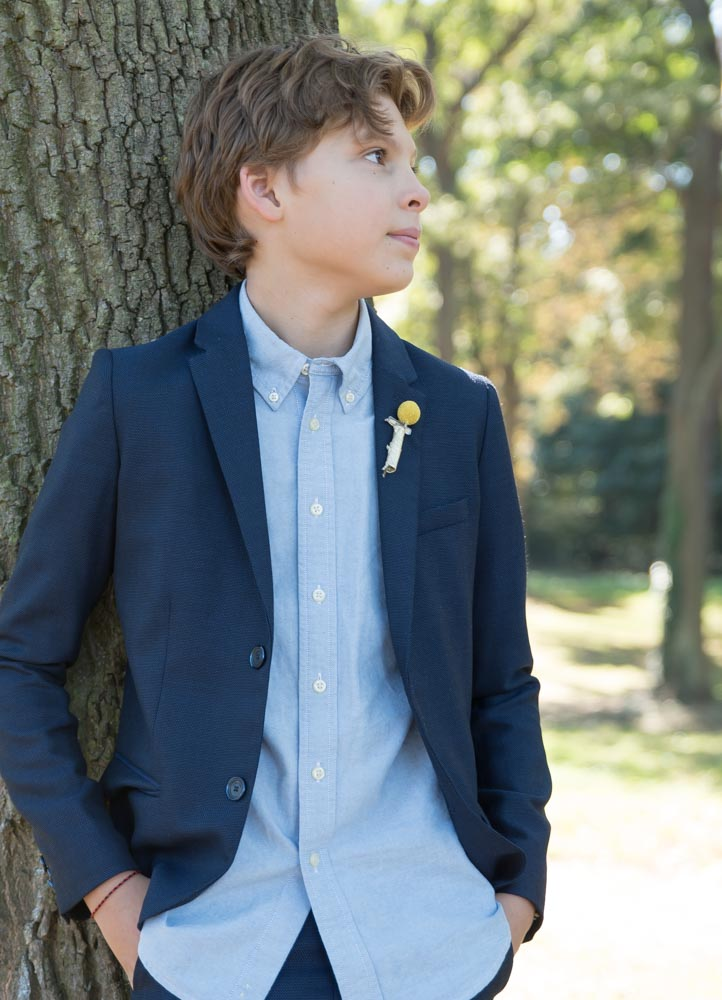 photo de famille le jeune garçon mode