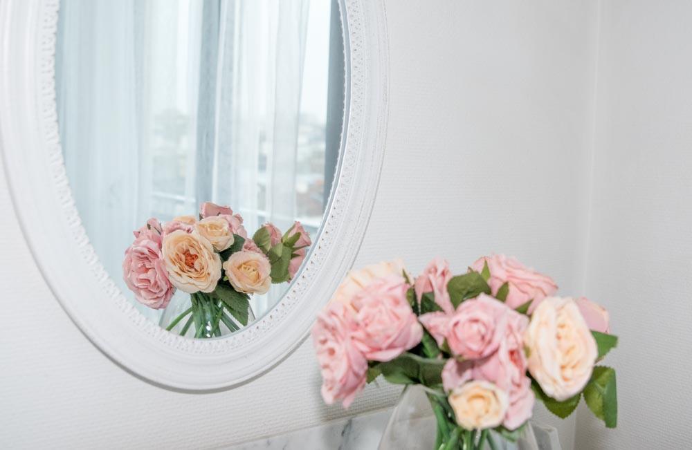 studio photo boudoir fleurs