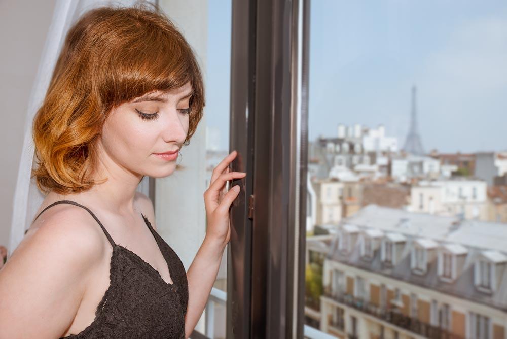 photo de femme boudoir paris