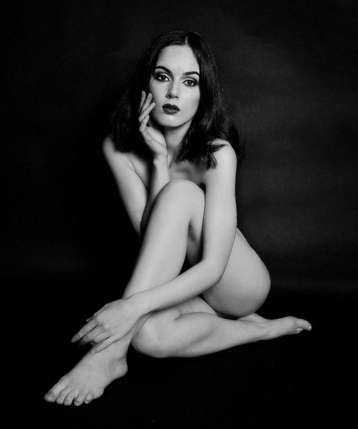 portrait femme nu