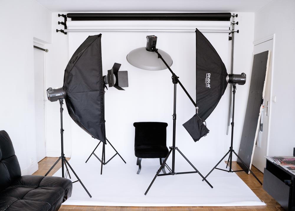studio photo paris